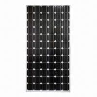 175 to 195W Mono-crystalline Solar Panels with High Efficiency and 25 Years Warranty Manufactures