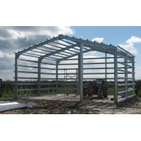 H Section Lightweight Steel Frame Building  Fire Proof For Column / Beam Manufactures