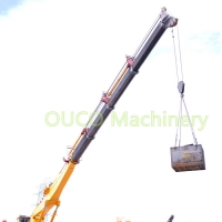 30m Hydraulic 8t Telescopic ABS Crane Grab Bucket Manufactures