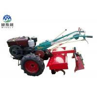 Agricultural Walk Behind Tractor Soil Cultivator Diesel Engine Powered Manufactures