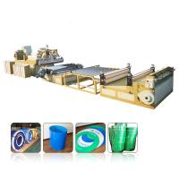China Multilayer PP PE PC ABS Pvc Sheet Extrusion Line 0.2mm-12mm Thickness Range on sale
