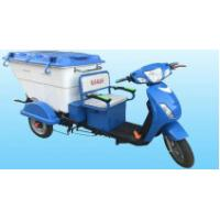 China Electric Delivery Tricycle Garbage Collection Trucks With 15 Tube Controller wholesale