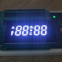 Customized ultra white 4 Digit Seven Segment Display for oven timer Manufactures