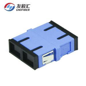China 95%RH FTTx SC/UPC To SC/UPC Duplex Fiber Optic Adapter on sale