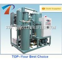 Free polution industry lubricating oil filtering unit,super ability in breaking emulsion,dehydration and degassing Manufactures