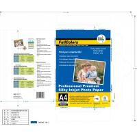 135 Gsm High Glossy Inkjet Photo Paper Waterproof Printing Surface Anbd Instant Dry Manufactures