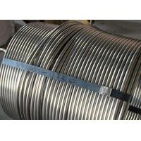 Durable Stainless Steel Coiled Tubing 20ft Length Stainless Steel Heating Coil Manufactures