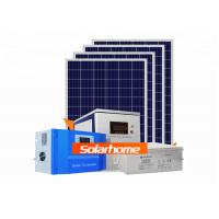 Quality Bluesun AGM Solar Panel System 30 Kw 6 Input 2 Output Solar Battery System for sale