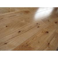China rustic grade White Oak Solid Hardwood Flooring, CD grade with different stains and finishing on sale