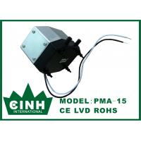 Electric 10 W Electromagnetic Air Pump Small Aluminium With Double Duckbill Valves Manufactures
