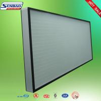 China High Efficiency Hepa Air Filters , Air Conditioner Hepa Filter Air purify on sale