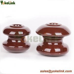Highest grade electrical wet-process porcelain spool insulator Manufactures
