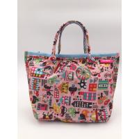 Colorful 210D Ripstop Polyester Handbags Ladies Fashion Handbags Reusable Manufactures