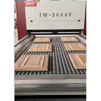 Vacuum Membrane Press Machine from China for Wooden door TM3000F-P Zhanhongtu manufacturer Manufactures