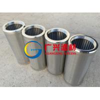 wedge wire screen filter elements Manufactures