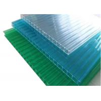 Colored Twinwall  Polycarbonate Sheet Construction Building Materials Manufactures