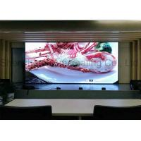 Front / Back Service Indoor Advertising LED Display Screen Video Wall Panel SMD P3 HD Manufactures