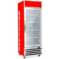 350L Upright Display Fridge , Auto Defrost Refrigerated Display Cooler Manufactures