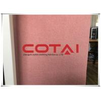 Buy cheap Double Sided 5% Alpaca 60% Wool Creamy Pink Long Pile Mohair Fabric  900g/M 600gsm from wholesalers