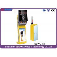 MCU 32 Bits RISC Electric Auto Car Parking Ticket Machine with Parking Ticketing System Manufactures