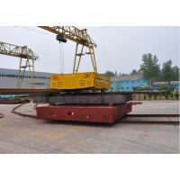 Foundry plant electric powered on-rail mold transfer car for mould handling Manufactures
