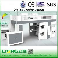 1200mm Max Length 4 Colors Flexo Printing Machines For News Paper Manufactures