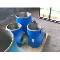 Corrosion-resistant alloy lined composite mitre elbow tee fittings Manufactures