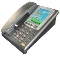 Buy cheap caller id telephone with big LCD telephone from wholesalers