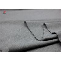 Melange Colour Sports Clothing Weft Knitted Fabric Polyester Spandex Material Manufactures