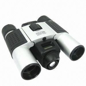 5x Digital Binocular Telescope + Digital Camera, Measures 96 x 11 x 49mm Manufactures