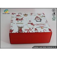Customized Chrismas Luxury Christmas Packaging Paper Gift Box Recycled Materials Manufactures