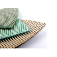 Electroplated Triangle Polishing Pads / Wet Dry Diamond Polishing Pads 80x80x80mm Manufactures