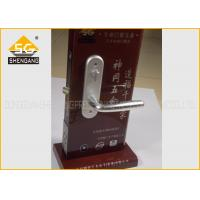 Adjustable Italian Wood Interior Door Silent Door Handle Lock Noise Elimination Manufactures