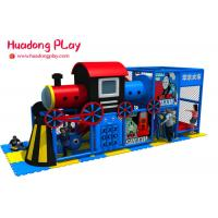 Toddler Indoor Playground Equipment High Safety New Thomas Train Style Manufactures