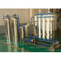 Stainless Steel RO Drinking Water Treatment Systems for Water Filling Line Manufactures