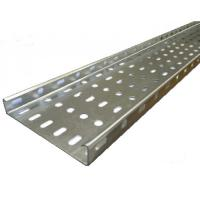 Aluminium / FRP Building Cable Tray With Powder Coated Customized Colors Manufactures