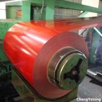 Outdoor Building Material Coated Aluminum Coil , PET Film Laminated Coil Coated Aluminium Manufactures