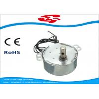 1.5RPM Home Ac Electric Motor , Silver Color Synchronous Ac Motor 49TYD Low Noise Manufactures
