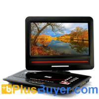 12.1 Inch Screen Region-free DVD Player with Analog TV (270 Degree Swivel Screen, Copy Function) Manufactures