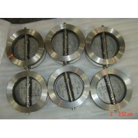 Reliable sealed Stainless Steel Wafer Check Valve with NBR / EPDM / VITON seat Manufactures