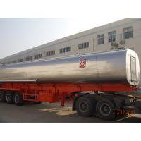 45KL Modified Hot Asphalt Trailer Round  Shape Bitumen Transport Tanker  Manufactures