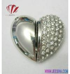 Crystal Diamond Heart Shape USB Memory Manufactures