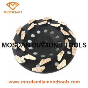 China Rain-Drop Seg Diamond Cup Wheel Disc for Concrete on sale