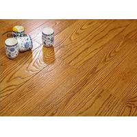 Archaize Red Oak Solid Wood Flooring For Living Room Emboss Pattern Manufactures