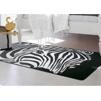 Memory Form Anti-slip PVC Coated Dots Bedroom Floor Mat Custom Made Area Rugs Manufactures