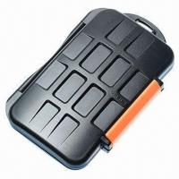 Waterproof Extremely Tough Memory Card Case for 4CF 8xd 8 microSD Cards Manufactures