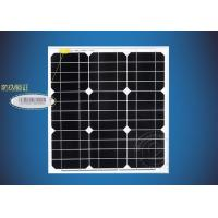 New-Tech High Efficiency Frame 12V 40W Monocrystalline Black Solar Panel With Aluminum Alloy Manufactures