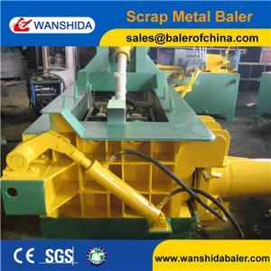China China WANSHIDA Y83-125 hydraulic scrap iron metal steel copper aluminum baler baling press machine on sale