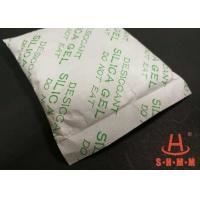 High Performance Silica Desiccant Packets , Solid Desiccant Anti Rust Tyvek Paper Package Manufactures