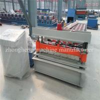 Ibr Metal Roof Sheet Roll Forming Machine , Roof Panel Forming Machine Manufactures